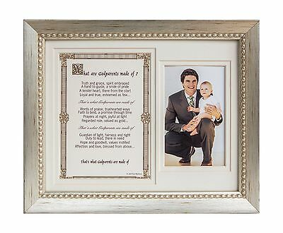 The Grandparent Gift Growing in Faith 8x10 Frame Godparents New