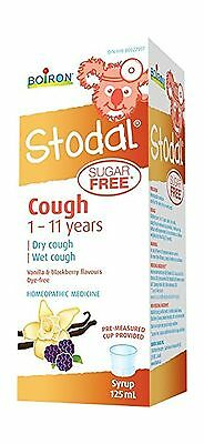 Stodal Children Sugar-Free Cough Syrup 125ml New