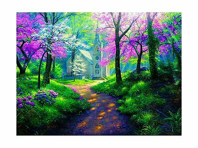 Spring Chapel 1000 pc Jigsaw Puzzle by SunsOut New
