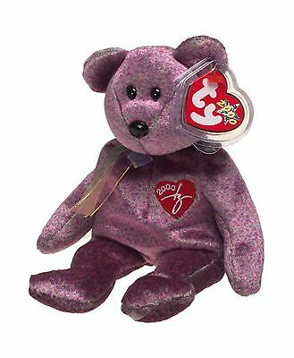 2000 Signature Bear Beanie Baby (Current) New