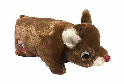 Rudolph the Red Nosed Reindeer Plush Pillow Pet New