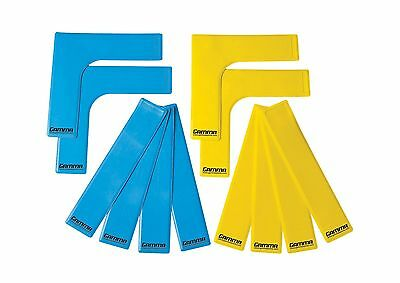 Gamma Court Marker Lines Yellow/Blue New
