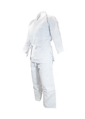 Fuji Single Weave Gi - Grappling Judo Jiu Jitsu BJJ - Uniform Includes Ja... New