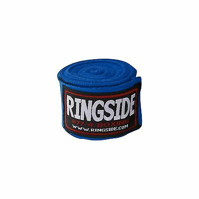 Ringside Mexican-Style Boxing Handwraps Blue 180-Inch Set of 2 New