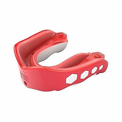 Shock Doctor Youth Gel Max Flavor Fusion Convertible Mouth Guard Fruit Pu... New