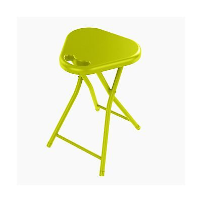 Dar Folding Stool with Handle Lime Green 4-Pack New