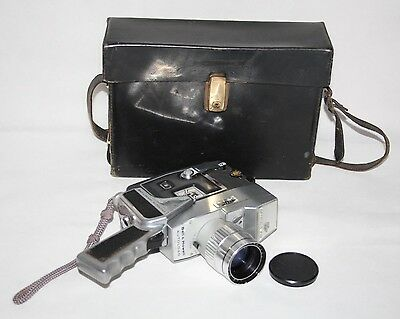 Bell & Howell Autoload Model 418 - c1970 8mm Movie Camera in Case - vgc