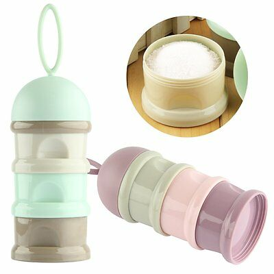 Portable Baby Milk Powder Formula Dispenser Food Container Storage Feeding Box