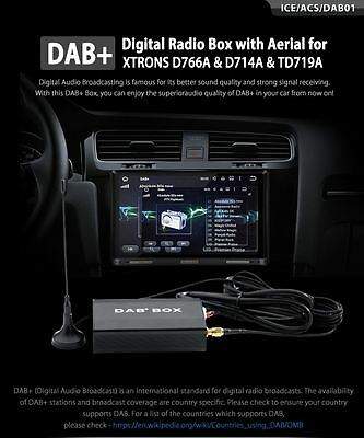 XTRONS DAB01 USB 2.0 Digital DAB+ Radio Tuner Receiver Stick Only For XTRONS