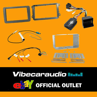 Connects2 CTKVW01 Double Din Stereo Fitting Kit For Volkswagen Scirocco 2008 >