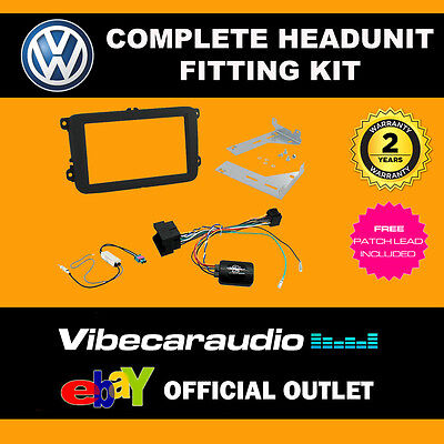 Connects2 CTKVW17 VW Jetta 2015 > Car Stereo Double Din Fitting Kit