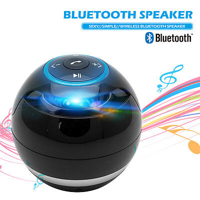 POWERFUL Portable Wireless Bluetooth Stereo Speaker Super Bass Mic TF FM Radio