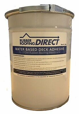 Water Based Deck Adhesive (WBA) For EPDM Rubber Roofing | Classicbond