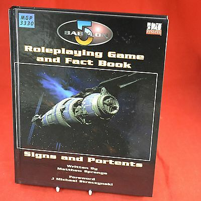 Roleplaying and Factbook Babylon 5 MGP3330 Signs and Portents