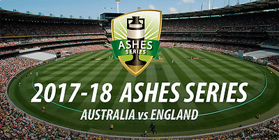 Ashes 2017 Package- AUS V. ENG  Adelaide Oval 2nd Test (Dec 1-7th) 6 tix 4 Rooms