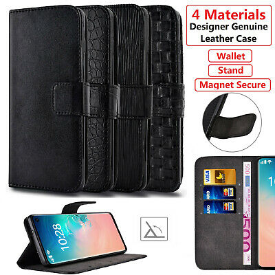 Luxury Leather S-View Wallet Flip Case Cover for Samsung Galaxy S8 S9 A6 A8 J6