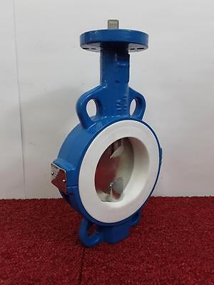 """Econ DN 100/4 4"""" Butterfly Valve 18 BAR 316 Stainless PTFE Seal PN10/26/ANSI"""