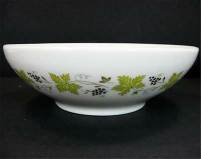 Carefree By Syracuse Vintage Pattern GrapeVine 8in Round Vegetable Serving Bowl