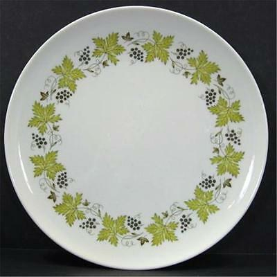 Carefree By Syracuse Vintage Pattern GrapeVine 10in Dinner Plate Set of 4