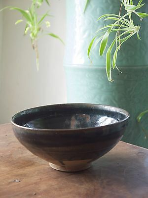 Stunning Jin dynasty (1115-1234) Cizhou type russet splashed bowl