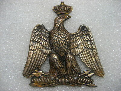 France French Army Napoleon Era Cap some Badge