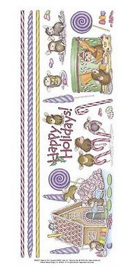 "House Mouse & Friends ""happy Holidays"" Stickers For Cards & Craft"