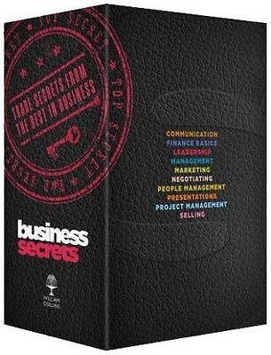 Business Secrets Box Set (Collins Business Secrets), Carolyn Boyes, New Book