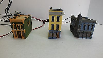 Three Built DPM Buildings with LED Lights