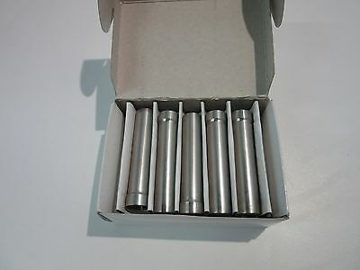 Eppendorf 10 x 15 ml Steel Sleeves for Rotor F-35-30-17 Serial # 5702 707.007