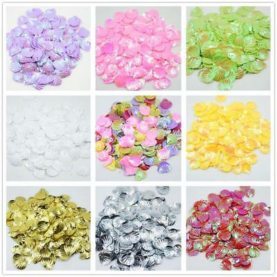 15mm DIY Sparkling Shell Sequins for Sewing Belly Dance Dress Jewelry Making