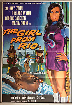 Cinema Poster: GIRL FROM RIO, THE 1969 (One Sheet) Shirley Eaton George Sanders