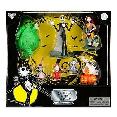 Disney Nightmare Before Christmas Colectable Figures Disney Park Exclusive
