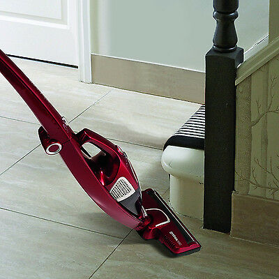 Morphy Richards 732005 Cordless Rechargeable Supervac 2 in 1 Vacuum Cleaner Red