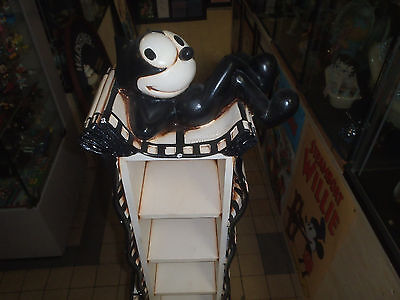 Extremely Rare! Felix The Cat Giant Figurine CD Rack Statue