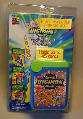 Manga / Anime Merchandise Digimon TRADING CARD DISPENSER 2000 OVP
