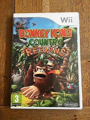 Donkey Kong Country Returns - Wii (unsealed) UK Release New!