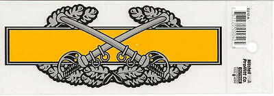 Combat Cavalry Badge Decal - Outside Application