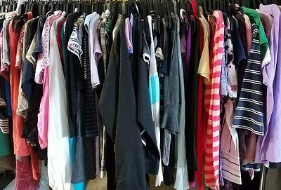 5 Piece Lot of Womens Tops, Shirts, Blouses, Tees, Tanks Wholesale Resale Lot