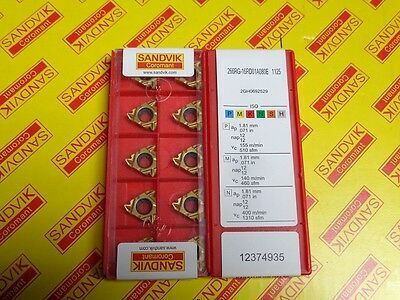 New in the box 10 pcs. 266RG-16RD 01A080E 1125 inserts.