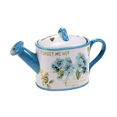 Certified International 14830 The Greenhouse 3D Watering Can Teapot 36 oz... New