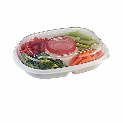 Rubbermaid Party Platter Party Tray Clear New