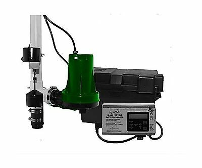 Zoeller 508-0005 Aquanot 508 Sump Pump System Battery Back-Up System New