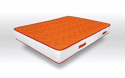 Colchon con Viscoelastica, Visco Orange, Reversible, 48H