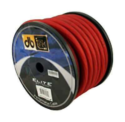 DB Link STPW0R50Z Soft Touch Power Wire 0 Gauge 50-Feet Roll (Red) New