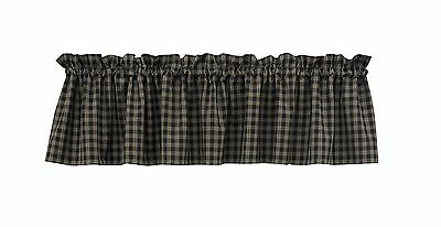 "Park Designs Sturbridge Valance 72 by 14-Inch Navy 72 by 14"" New"