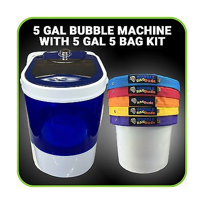 5gal 5bag Kit with 5gal Bubble Ice Bags Now Machinebubble Ice Magic Machine New