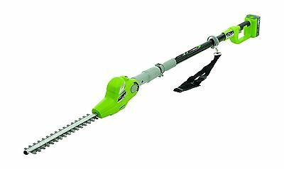 Earthwise LPHT12017 Cordless 20V Lithium Ion Pole Hedge Trimmer 17-Inch New