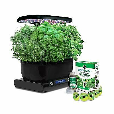 Miracle-Gro AeroGarden Harvest (LCD Control Panel) with Gourmet Herb Seed... New