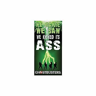 Factory Entertainment Ghostbusters-We Came We Saw Beach/Bath Towel New