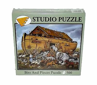 Ruane Manning Noah's Ark Bits and pieces 500 Piece Puzzle NO. 41053 New